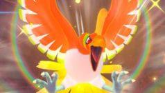 New Pokémon Snap Legendäres Pokémon Ho_oh Fundort alle Sterne Regenbogen Federn