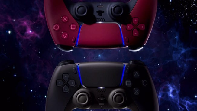 PS5 DualSense Black Red