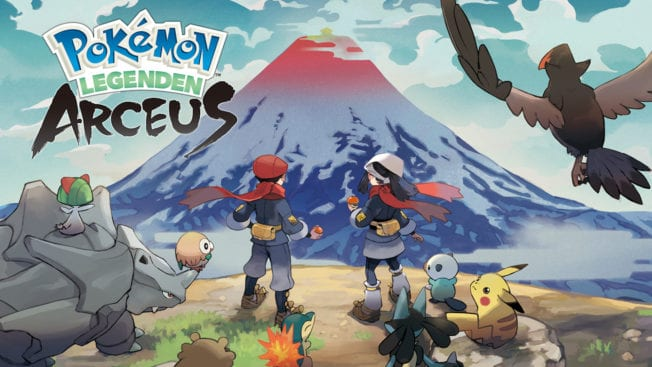 Pokémon Legenden Arceus Legends Nintendo Switch Release Datum Cover Artwork