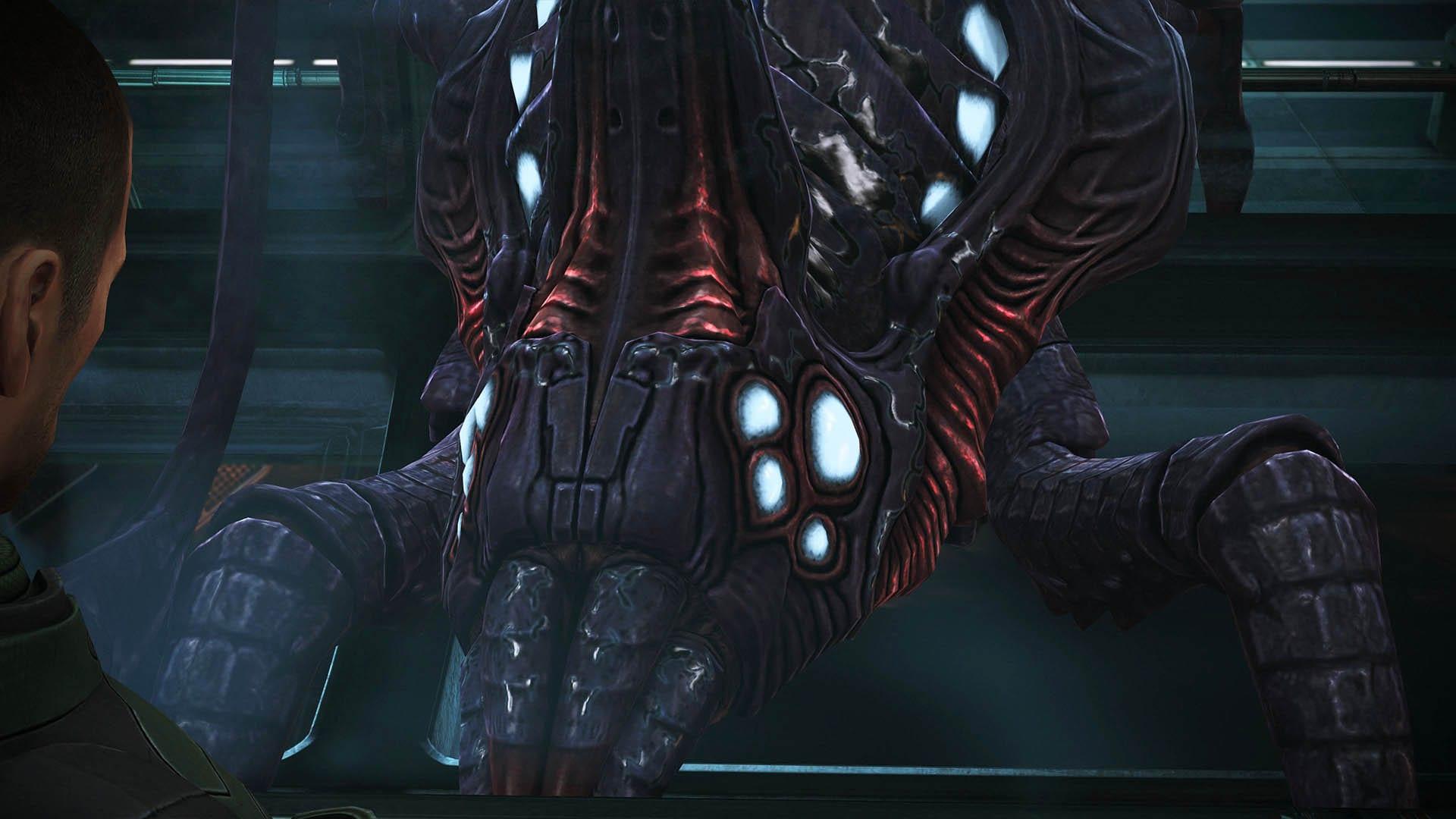 Rachni Königin in Mass Effect - Entscheidungen, Konsequenzen