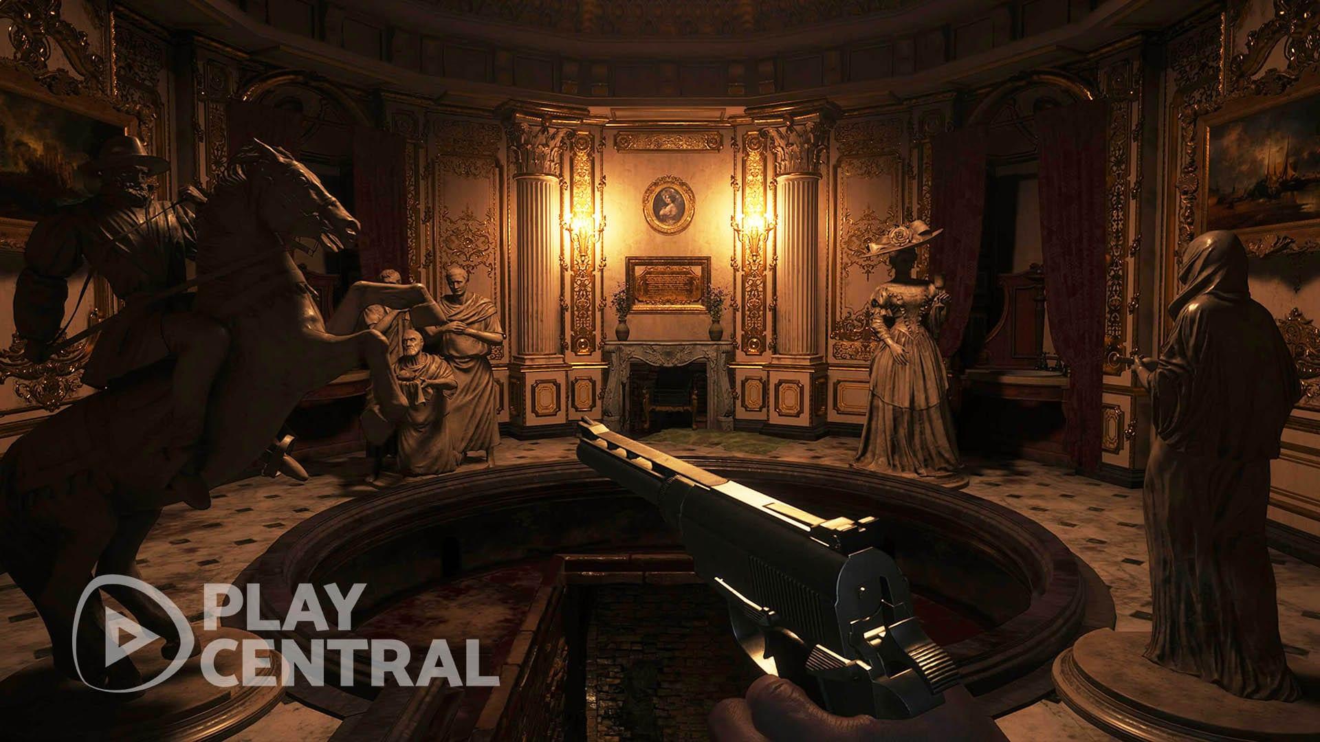 Resident Evil 8 - Badehaus - Rätsel 2a