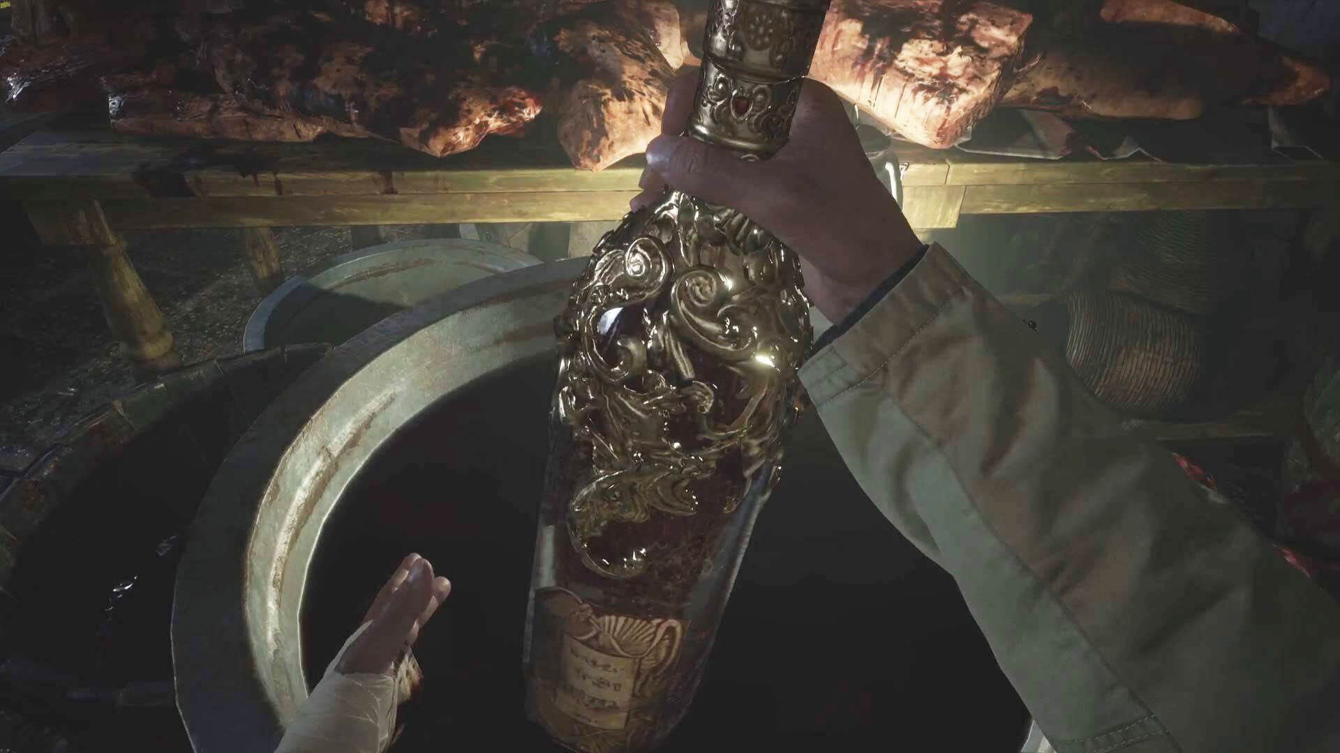 Resident Evil 8 - Wein - Blut der Jungfrau