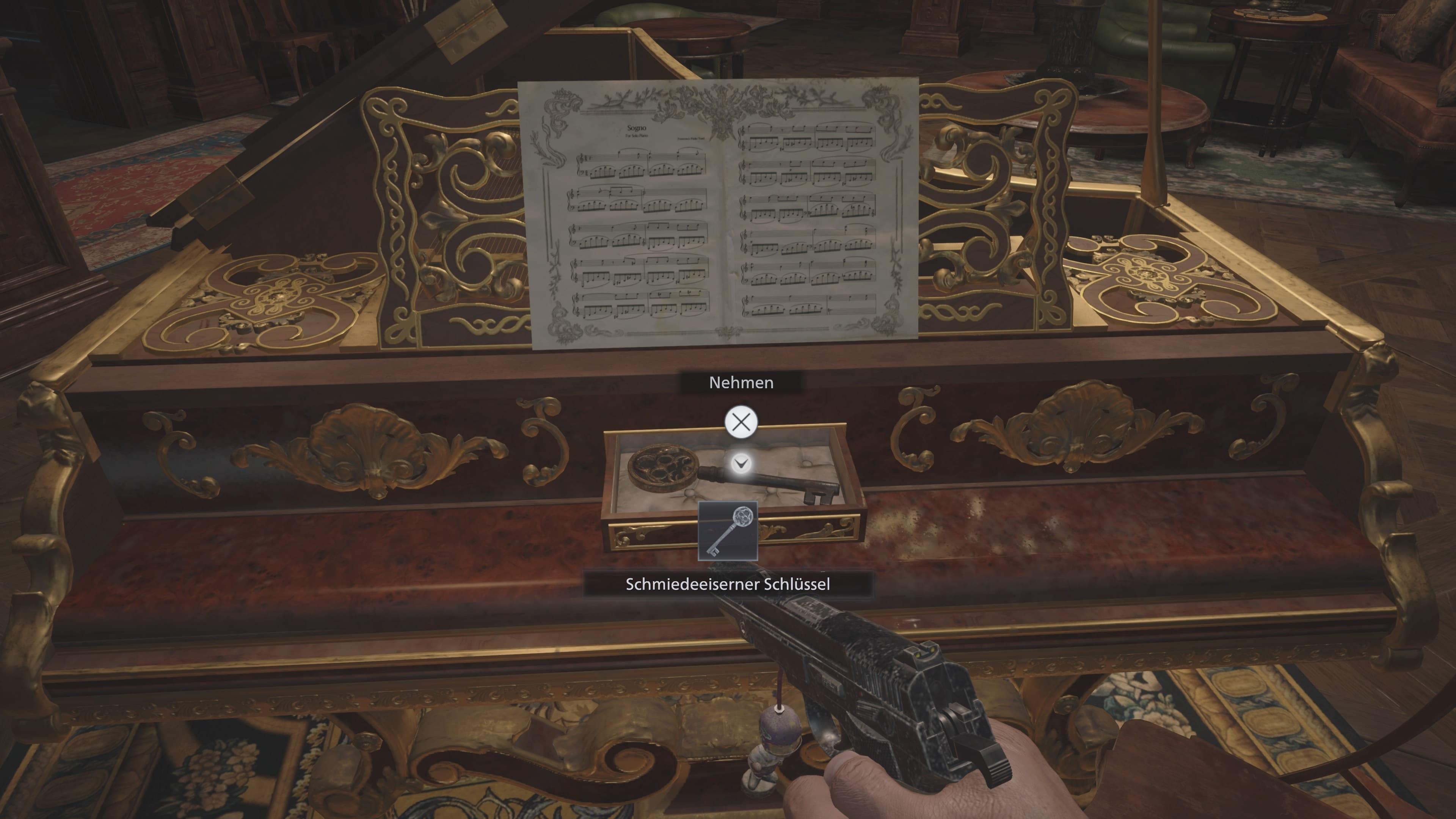 resident Evil 8: Schmiedeeiserner Schlüssel (Lösung)