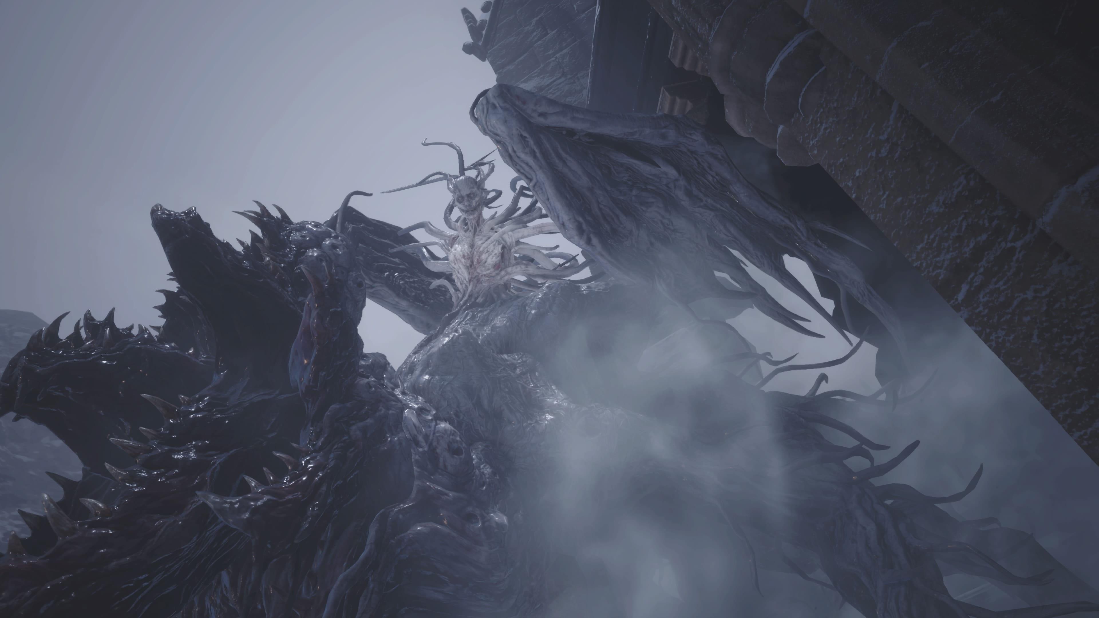 Resident Evil 8: Lady Dimitrescu (mutiert), Lösung