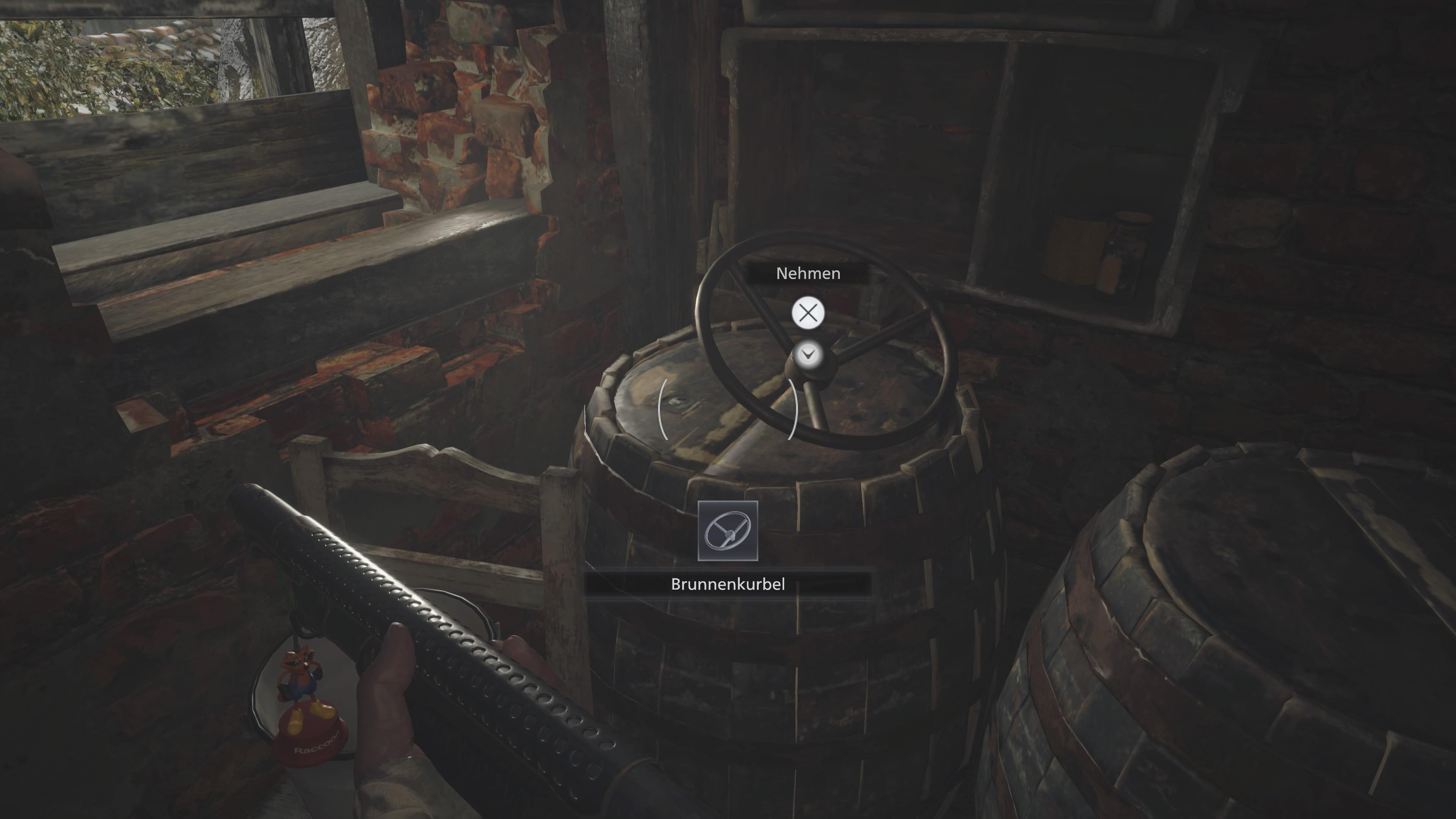 Resident Evil 8: Brunnenkurbel (LÖsung)