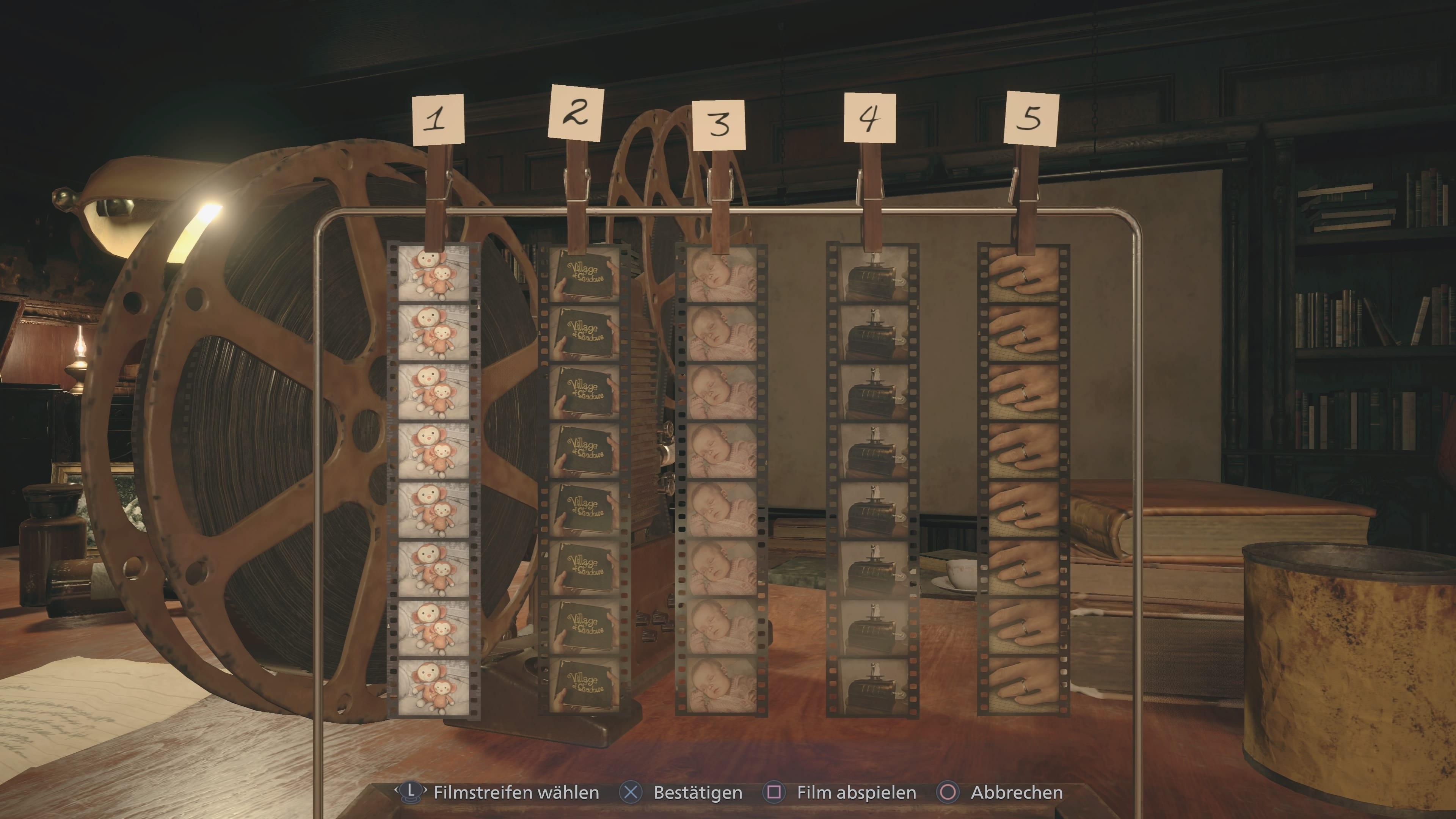 Resident Evil 8: Projektor-Rätsel (Lösung)