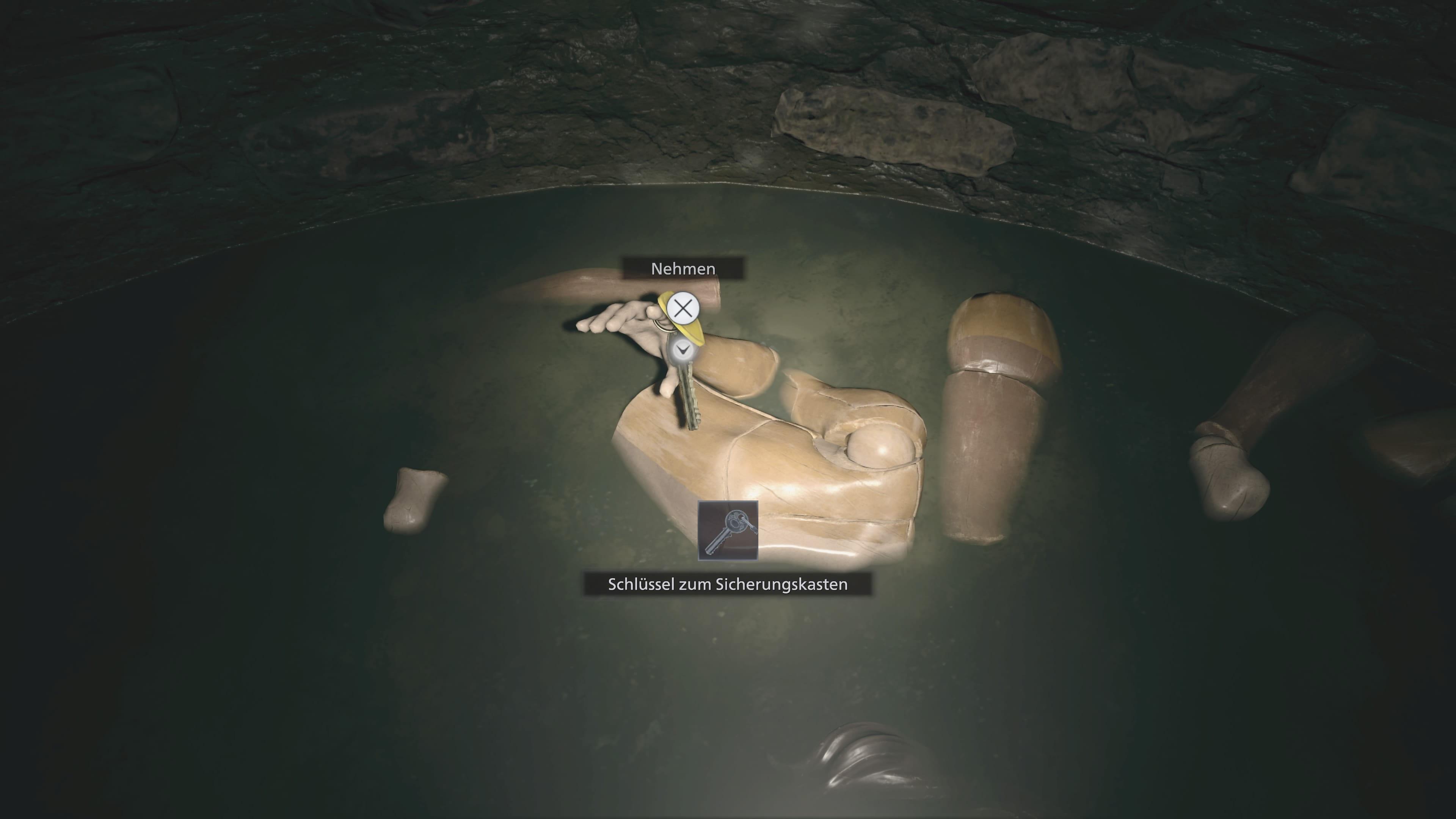 Resident Evil 8: Schlüssel für Sicherheitskasten (Lösung)