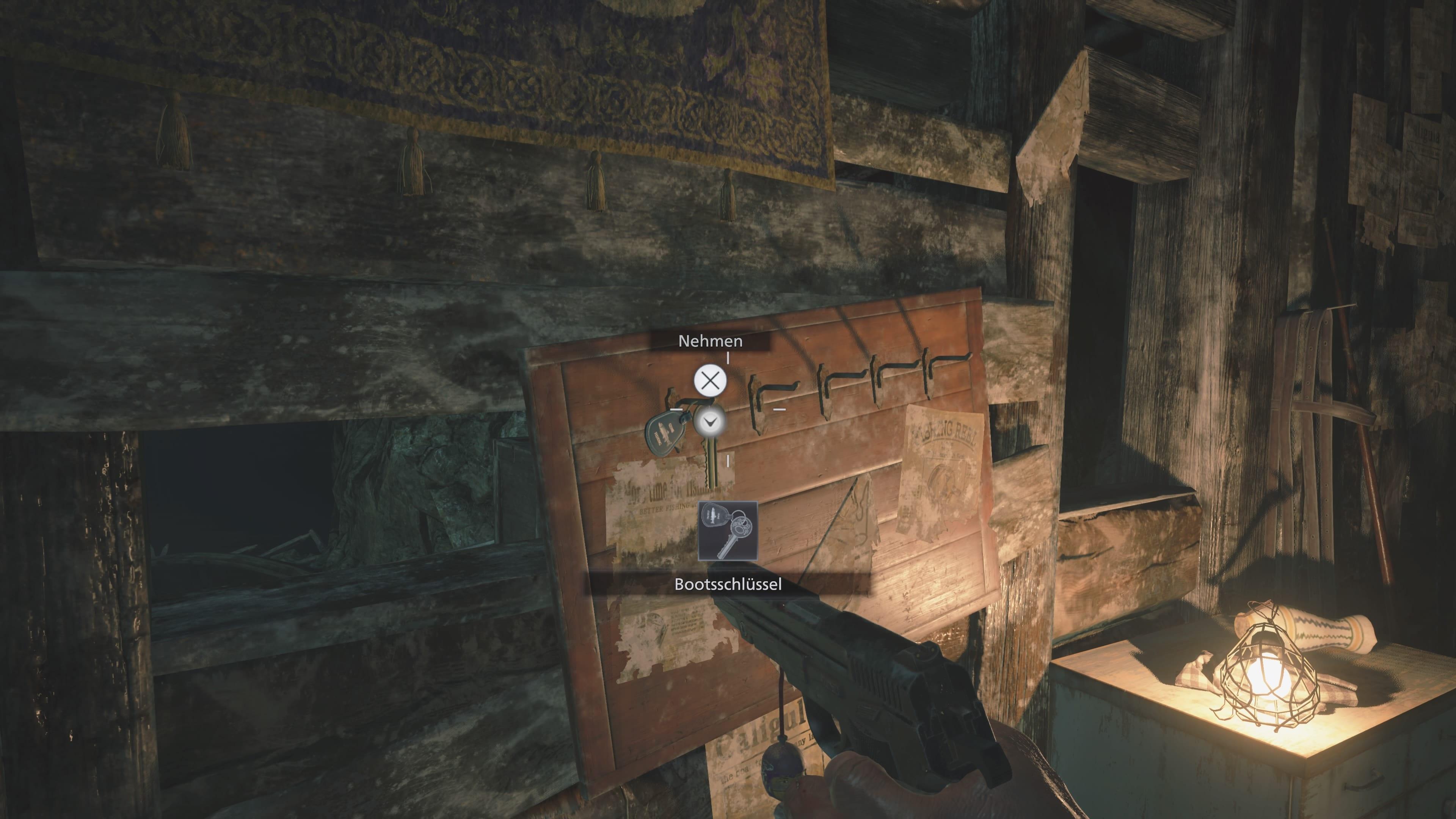 Resident Evil 8: Bootsschlüssel, Stausee (Lösung)