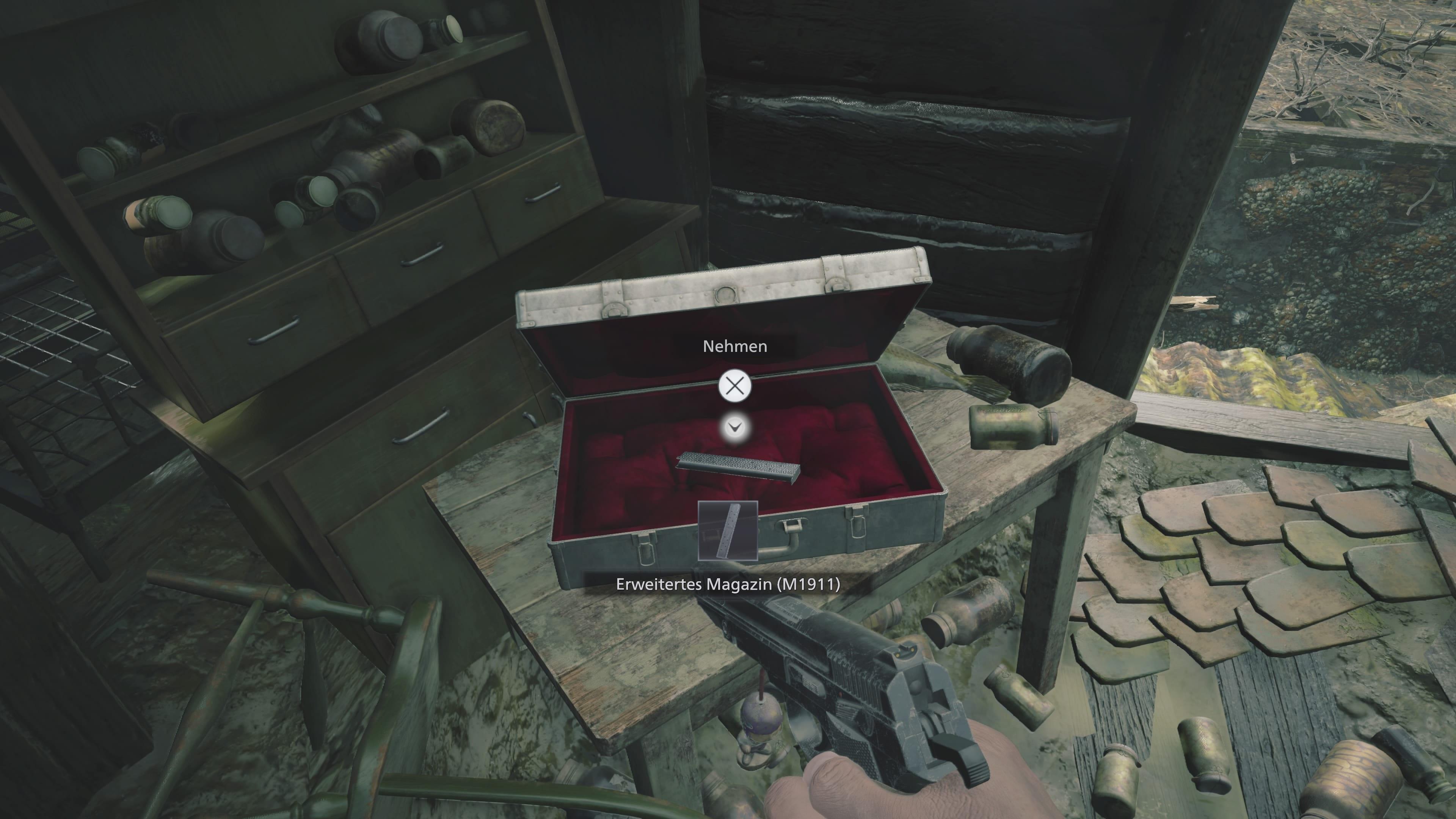 Resident Evil 8: Erweitertes Magazin (Lösung)