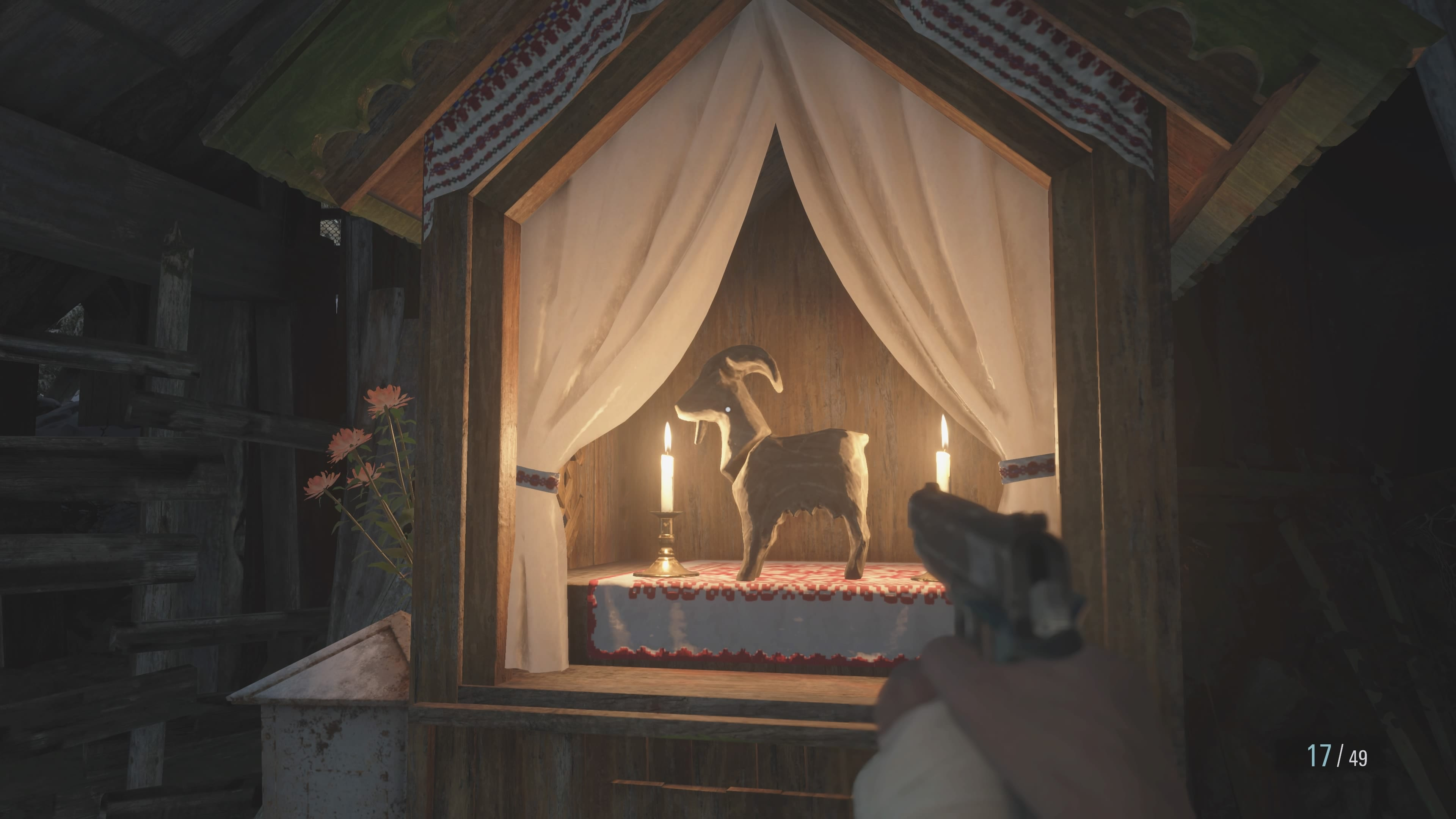 Resident Evil 8: Wächterziege im Sägewerk (Lösung)