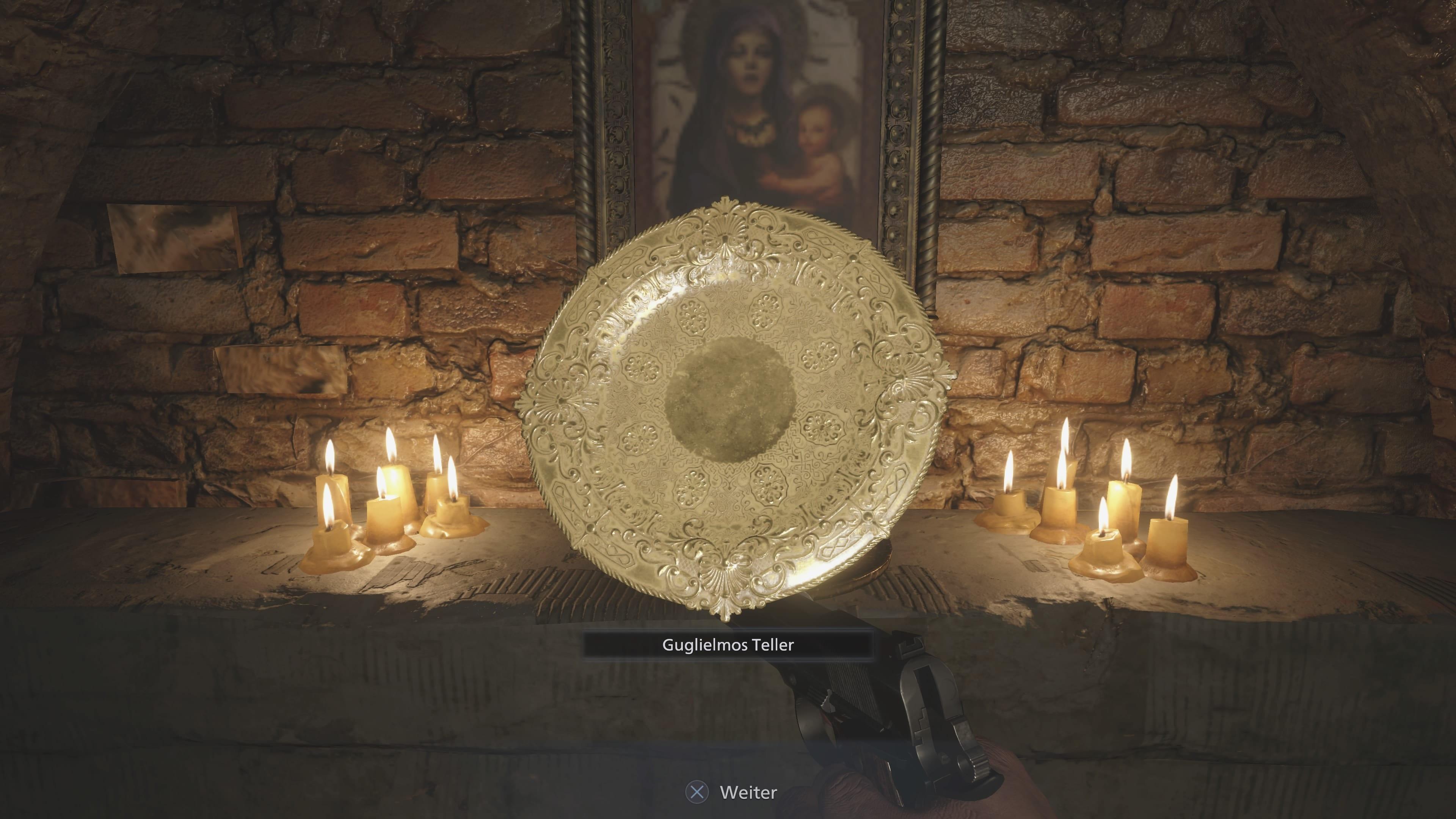 Resident Evil 8 - Schatz unter der Festung (Lösung)