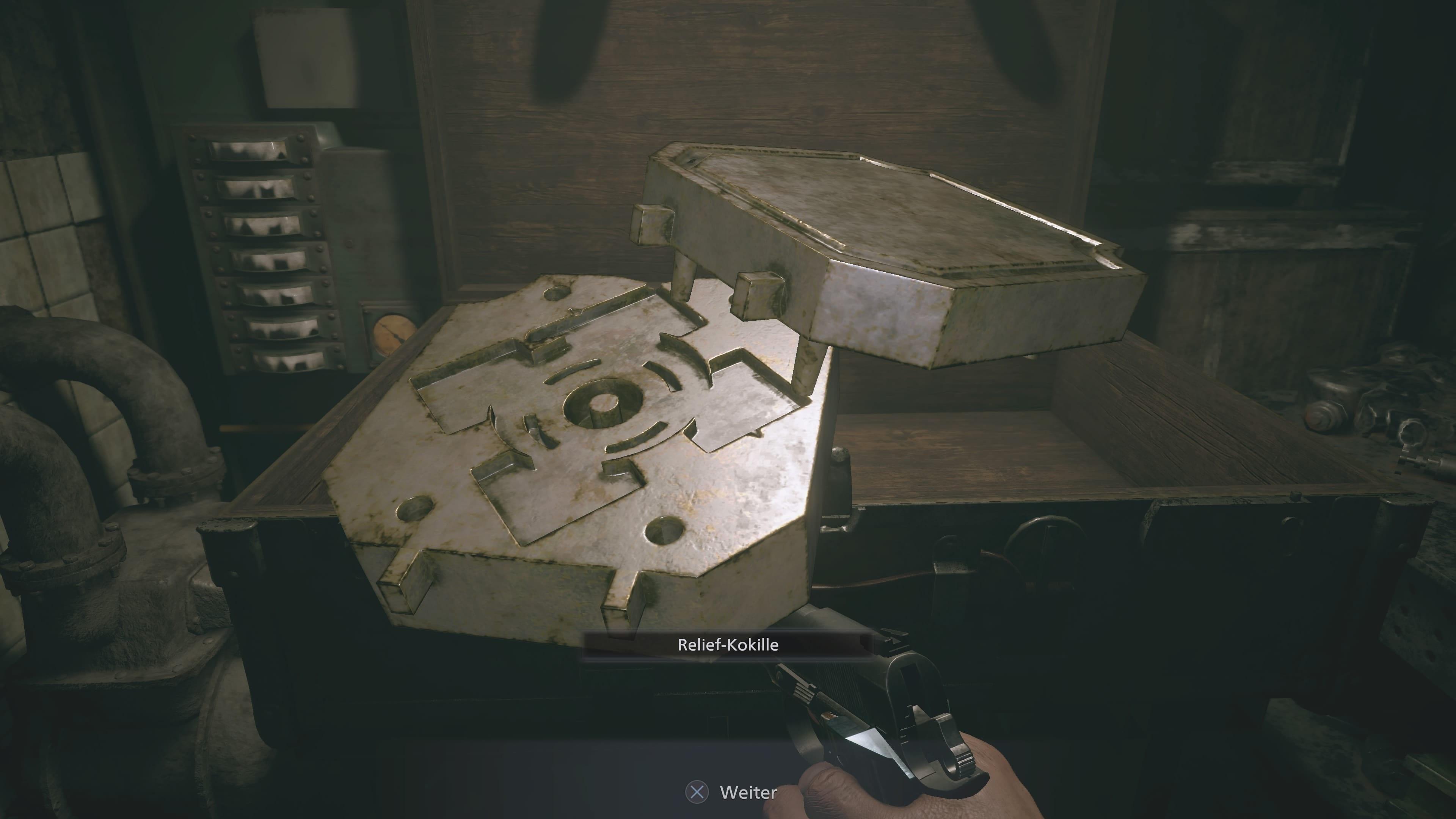Resident Evil 8: Relief-Kokille (Lösung)