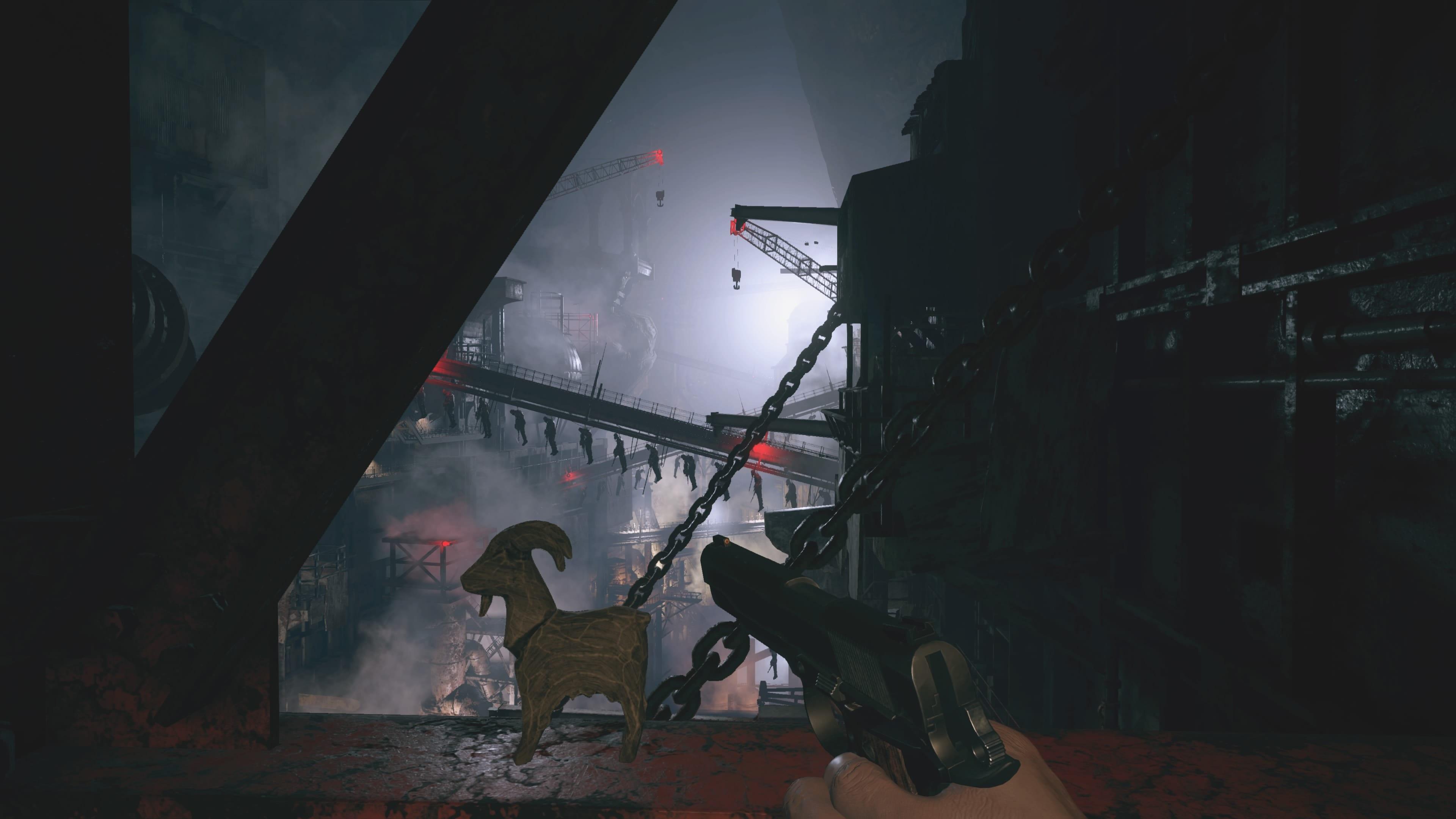 Resident Evil 8: Wächterziege in der Fabrik (Lösung)