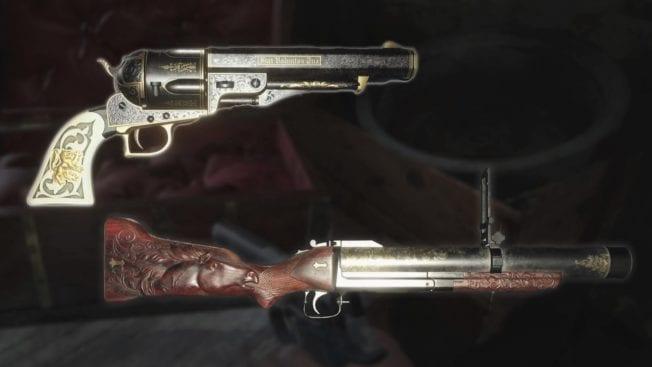 Resident Evil 8 Village Granatwerfer Wolfsbane