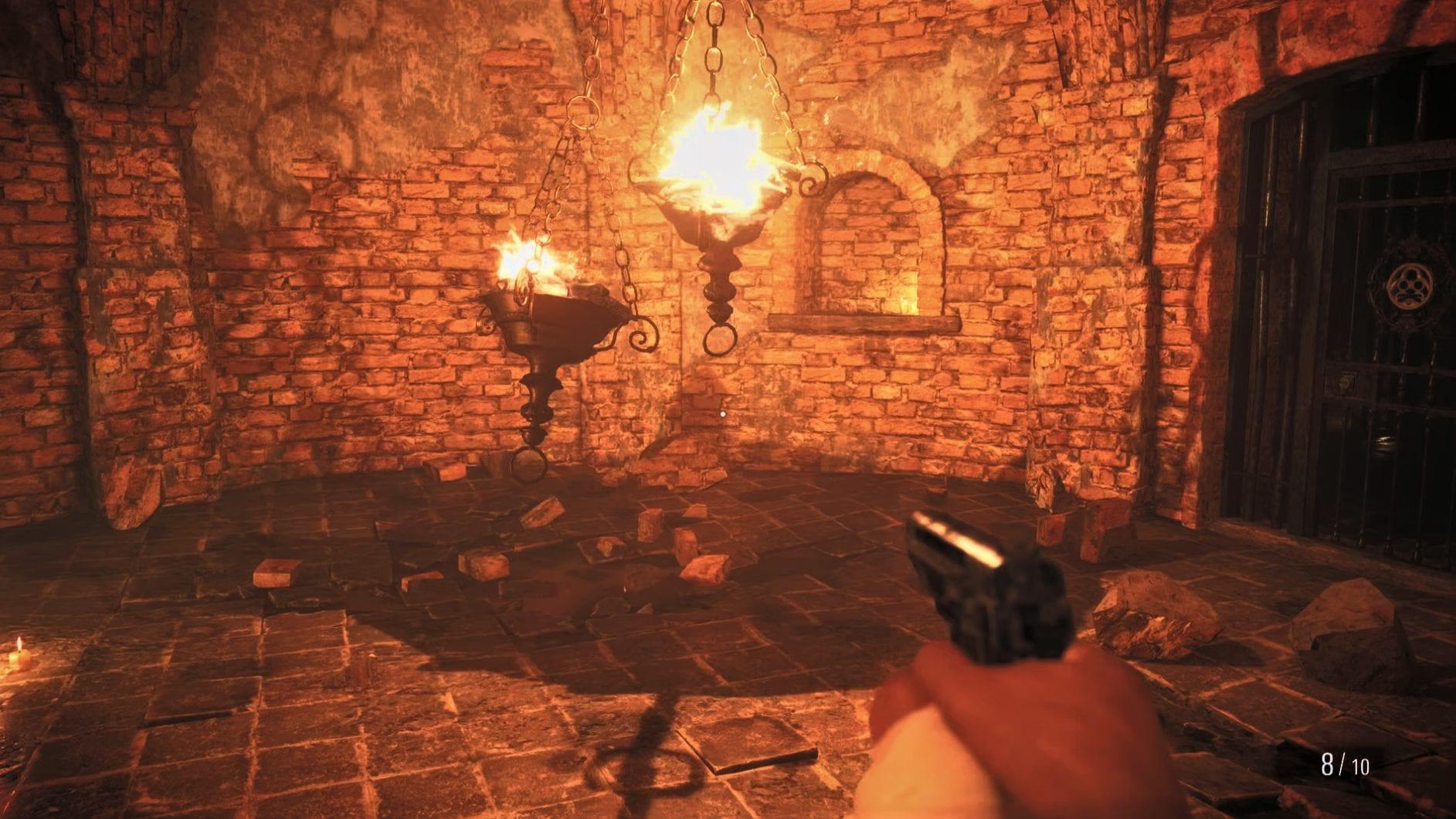 Resident Evil 8 Feuerschalenrätsel Ehrengemach Schloss Dimitrescu