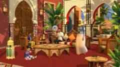 Sims 4 Innenhof-Oase-Set