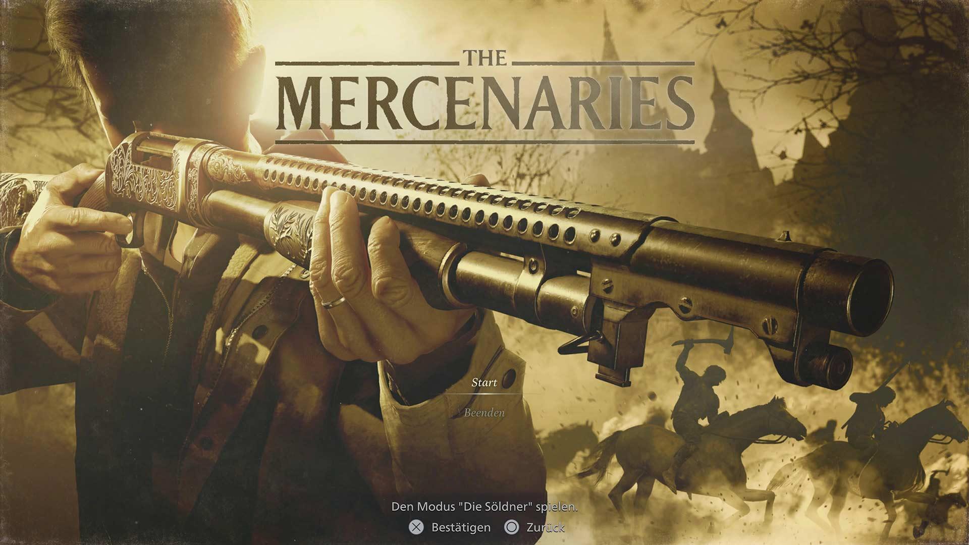 Resident Evil 8 - The Mercenaries