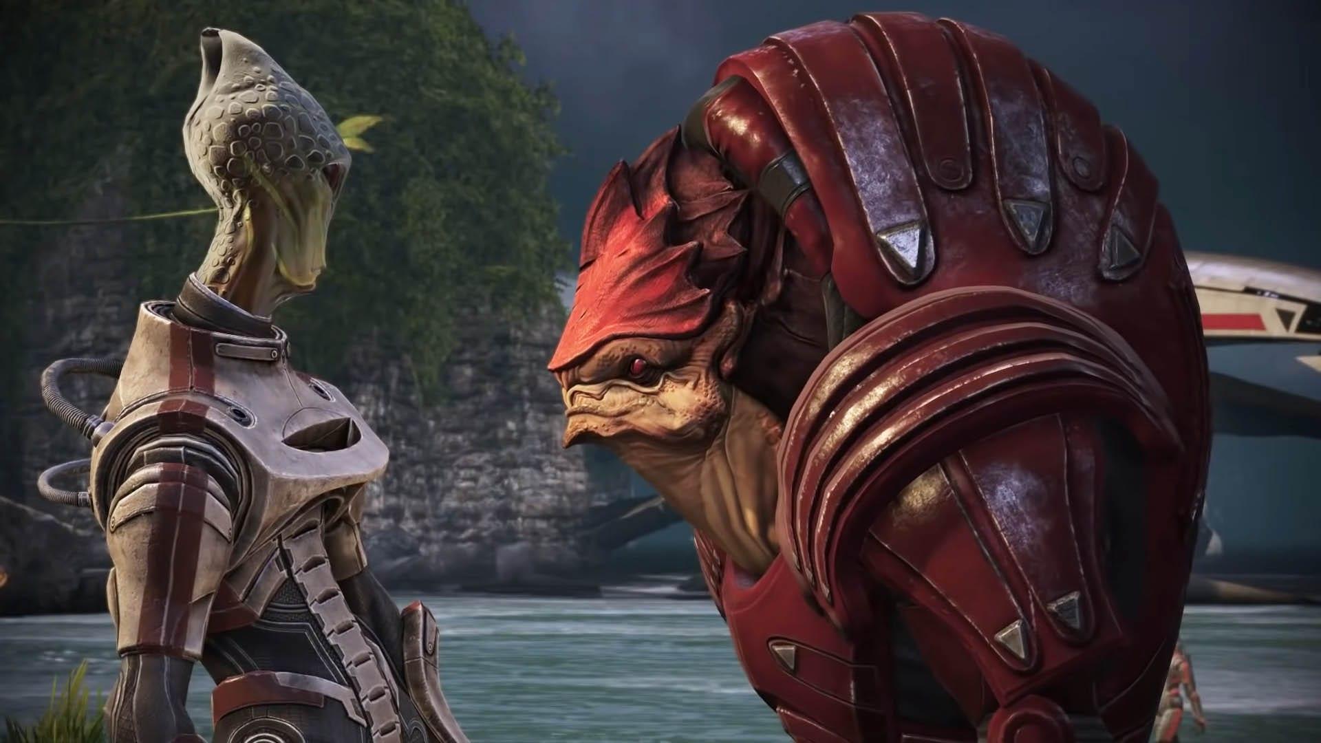 Wrex retten - Mass Effect - Optionen Dialog