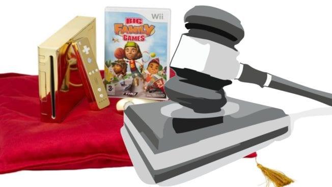 Goldene Wii der Königin
