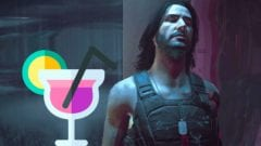Cyberpunk 2077 Johnny Silverhand Cocktail