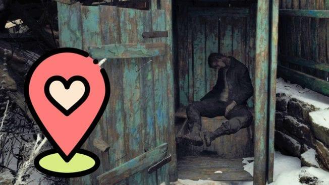 Resident Evil 8 Village Außenklotüren