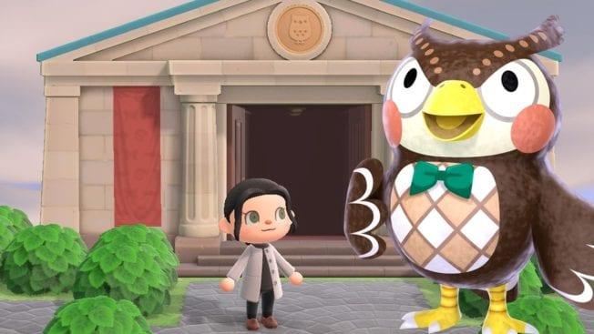 Animal Crossing New Horizons Museumstag Stempeljagd