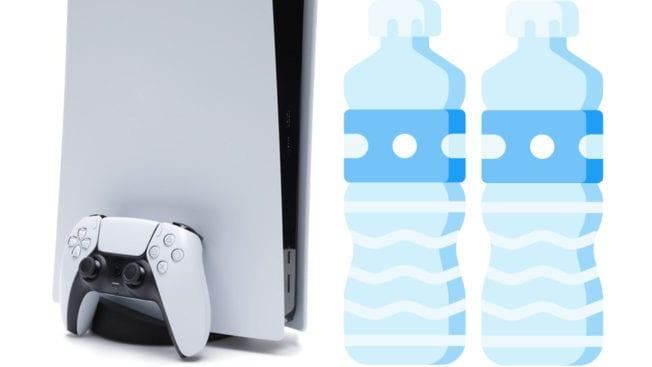 PS5 Wasserflaschen Betrug