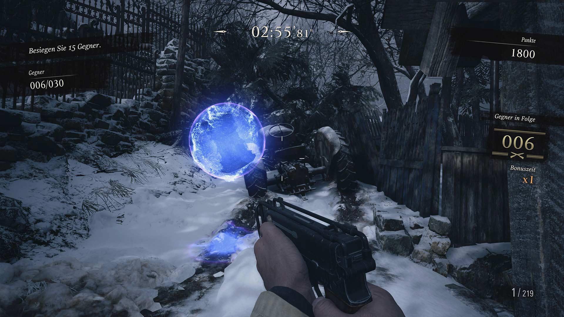 Resident Evil 8 - Blaue Kugel