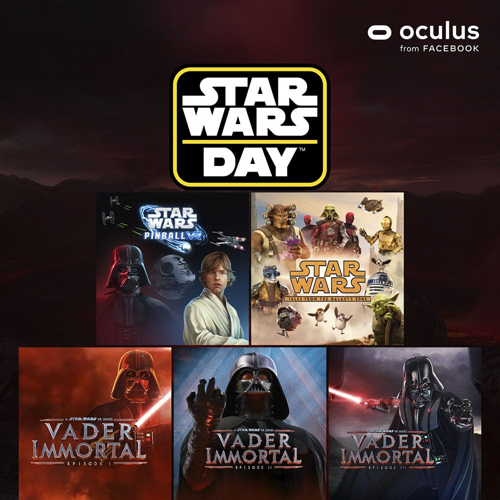 Star Wars Day 2021 - VR-Experiences