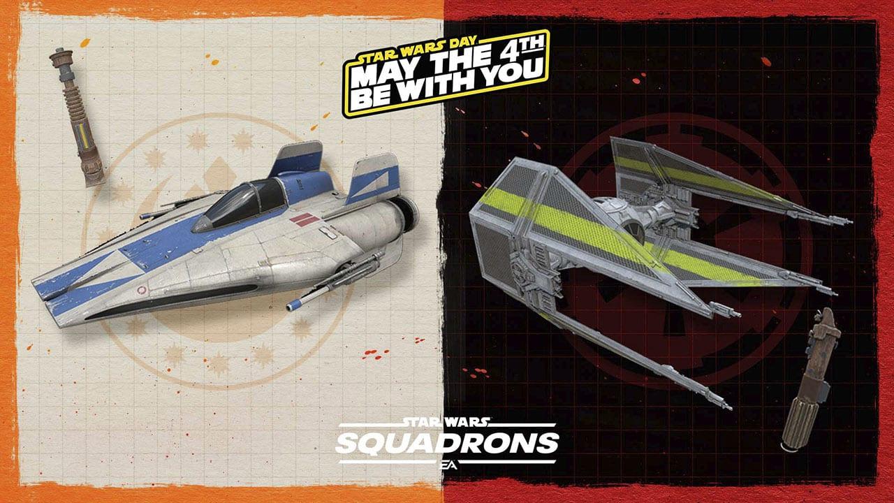 Star Wars Squadrons - neue kosmetische Items