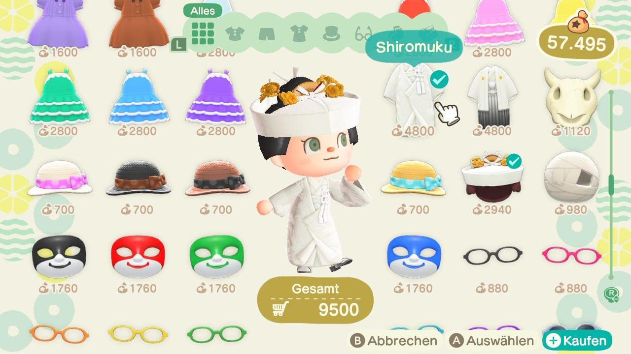 Animal Crossing new Horizons Juni saisonal