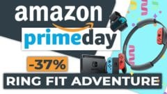 Nintendo Switch Ring Fit Adventure reduziert Prime Day 2021