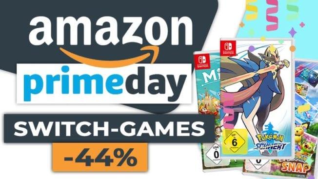 Amazon_Prime_Day2021 - Switch-Spiele