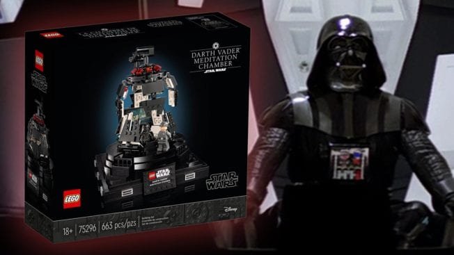 Darth Vader Meditationskammer von LEGO