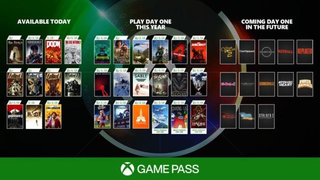 Xbox Game Pass - Bethesda-Spiele und Day 1 in 2021