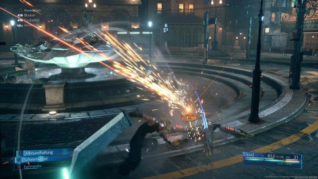 Final Fantasy 7 Remake Intergrade - Kämpfe in 60 FPS