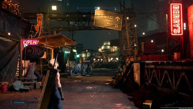 Final Fantasy 7 Remake Intergrade - Slums - Tech