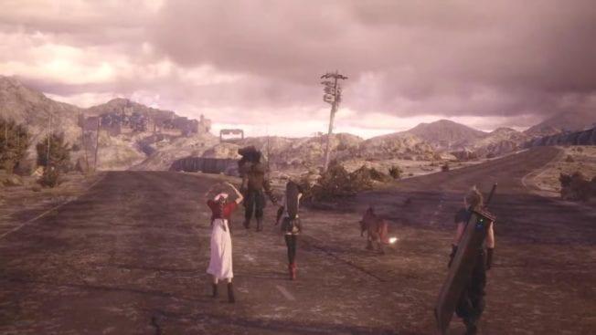 Final Fantasy 7 Remake - Yuffie Ende 3