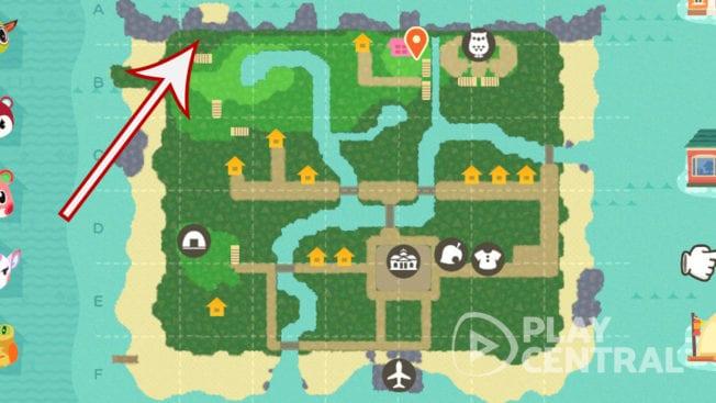 Animal Crossing Reiner Fundort