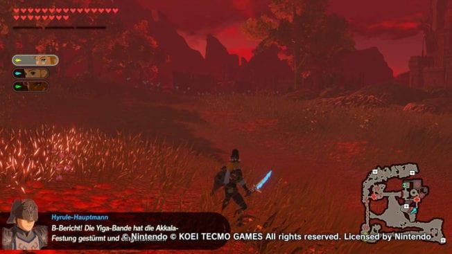Hyrule Warriors - Zeit der Verheerung - DLC 1 - Blutmond