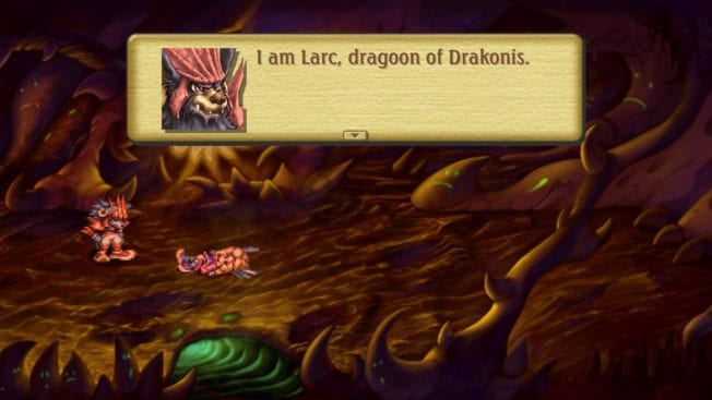 Legend of Mana Larc