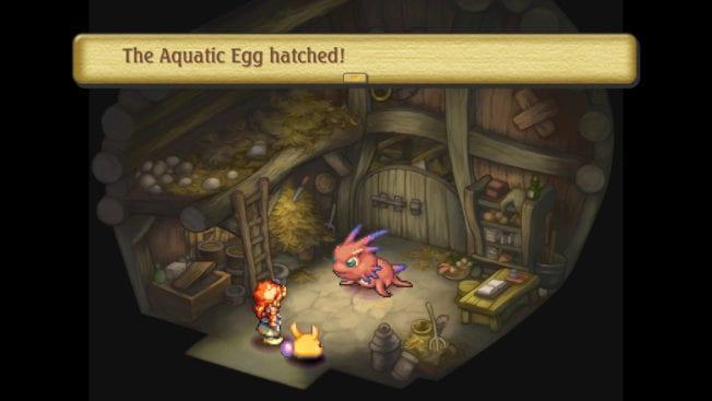 Legend of Mana Monstergehege
