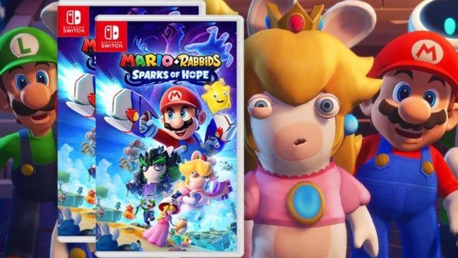 Mario plus Rabbid - Sparks of Hope