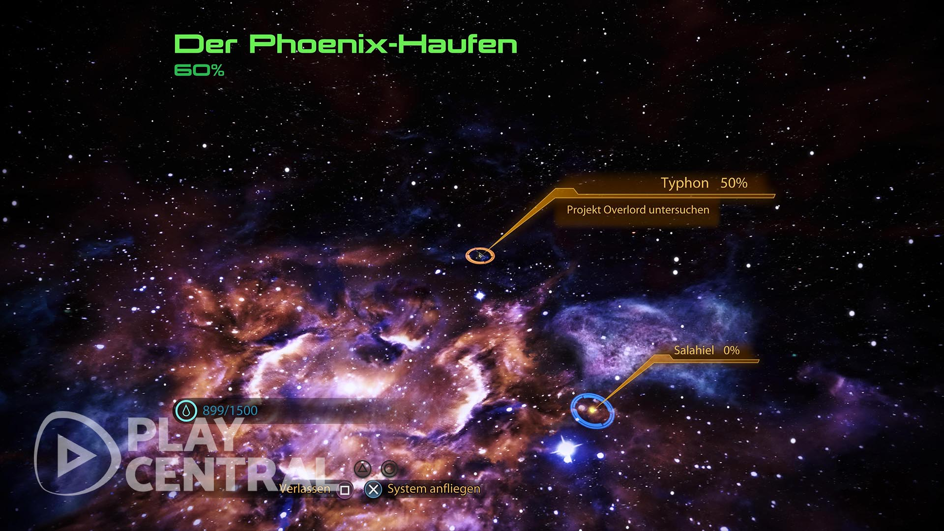 Mass Effect 2 - Element Zero finden - Phoenix-Nebel 1