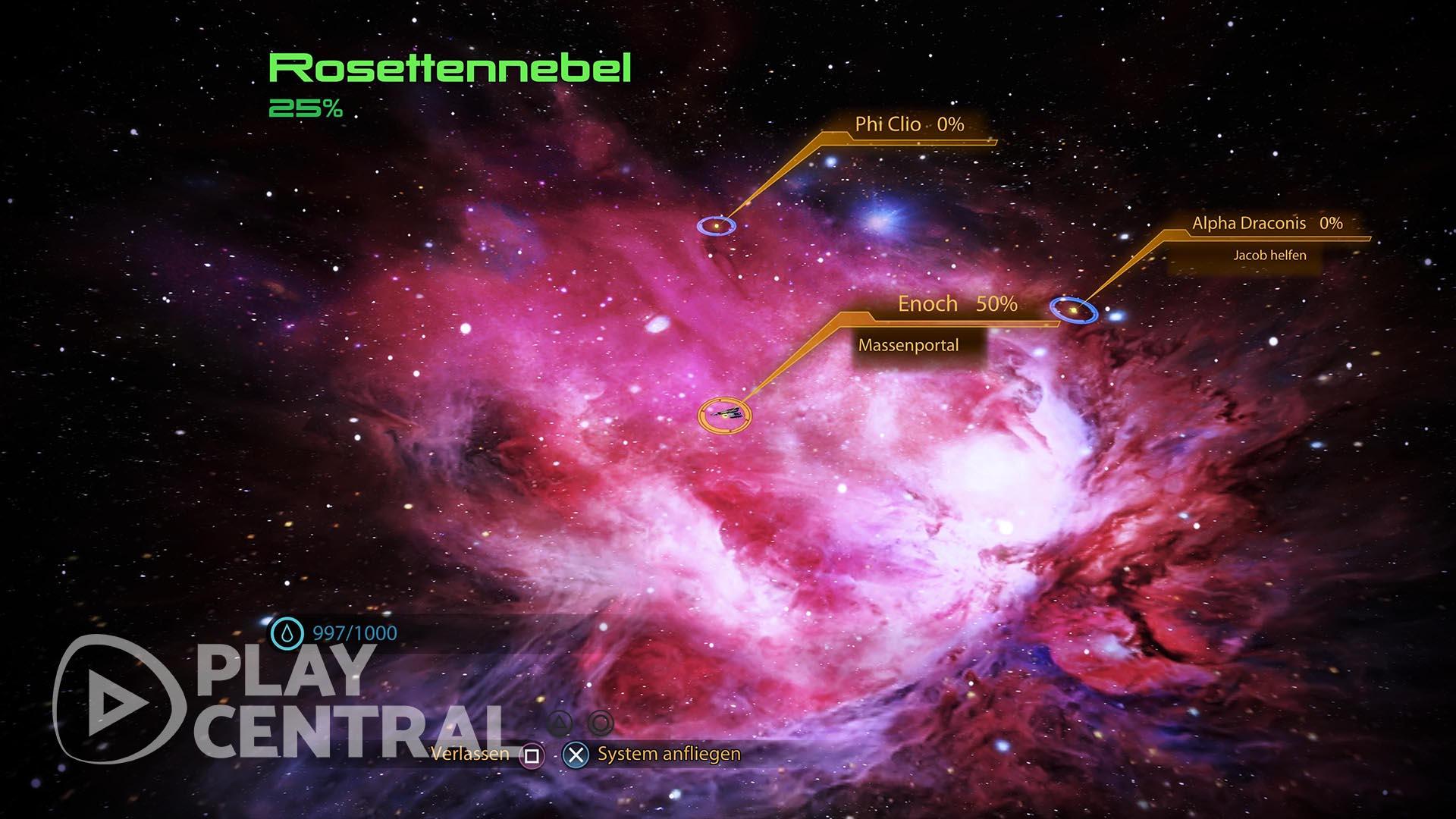 Mass Effect 2 - Element Zero finden - Rosettennebel 1