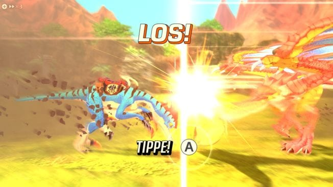 Monster Hunter Stories 2 - Quick-Time-Events