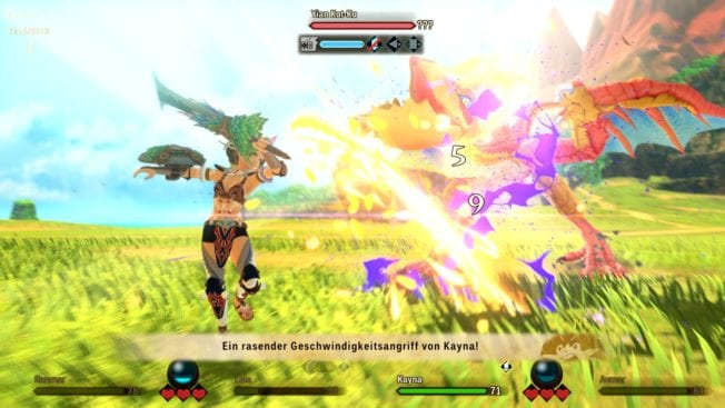 Monster Hunter Stories 2 - Angriffe