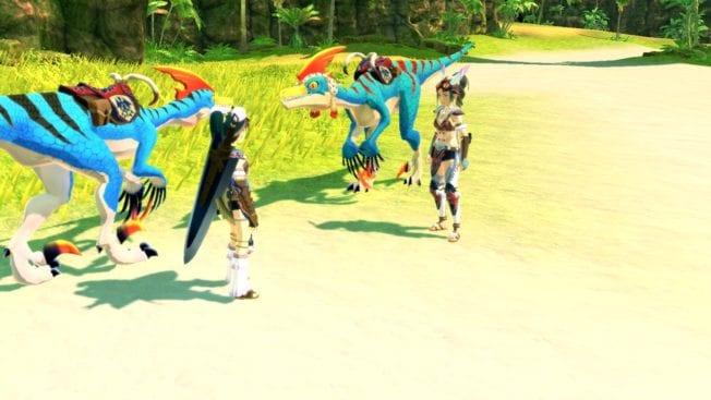 Monster Hunter Stories2  erster Ausflug