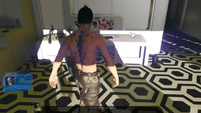 Cyberpunk 2077 Third Person Alpha