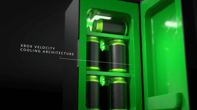 Xbox Series X Kühlschrank Release